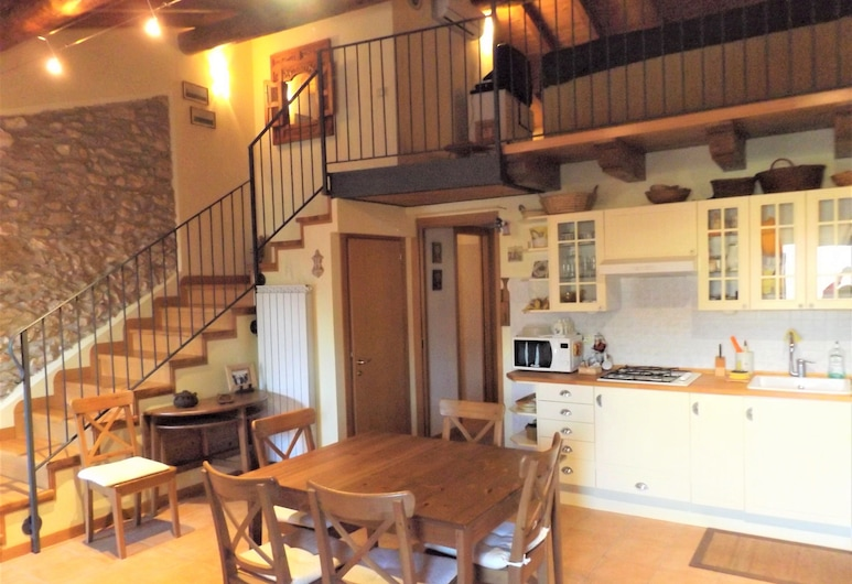 Casa Canevini Garda, גארדה, דופלקס, 2 חדרי שינה, אזור מגורים