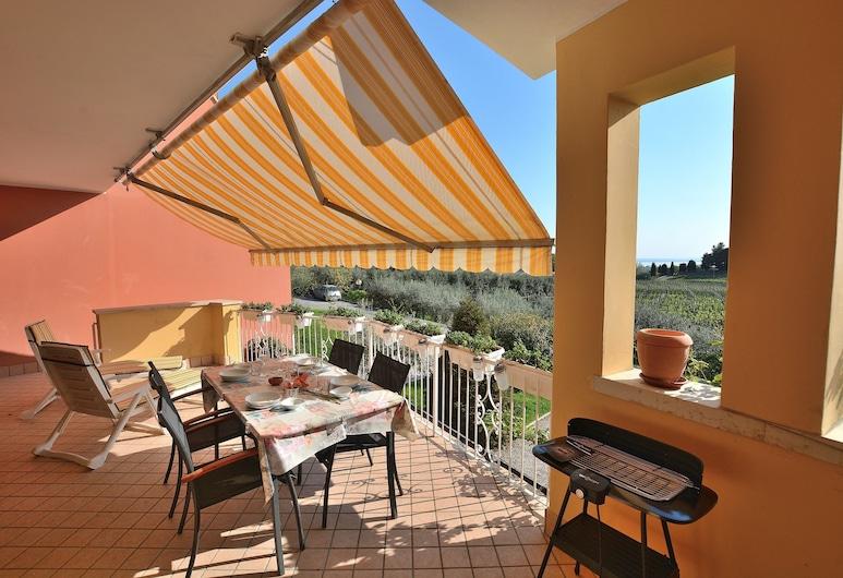 Apartment Quarole With Pool, Bardolino, Appartement, 2 slaapkamers, niet-roken, Terras