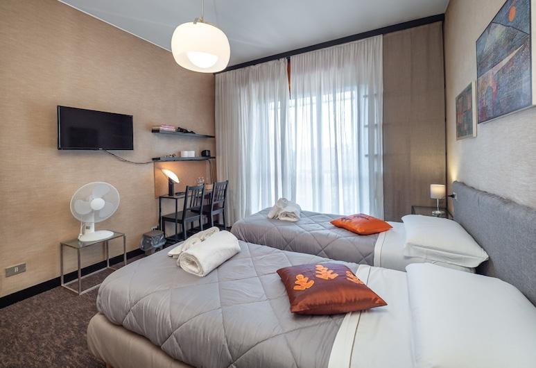 La Casa delle Arti Milano - Vintage Guesthouse, Milaan, City kamer, 1 twee- of 2 eenpersoonsbedden, gemeenschappelijke badkamer, Kamer