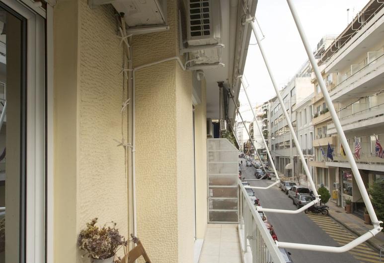 Keramikos Cozy Apartment, Atenas, Apartamento, Quarto