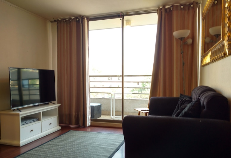 Apartamento Living Flores, Santiago, Apartmán, 2 spálne, Obývacie priestory