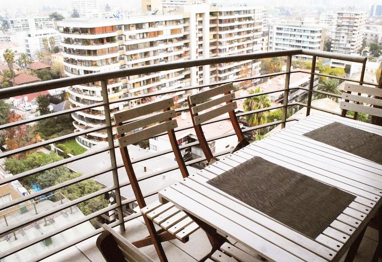 Apartamento Living Montt, Santiago, Rodinný apartmán, viacero postelí, nefajčiarska izba, Balkón