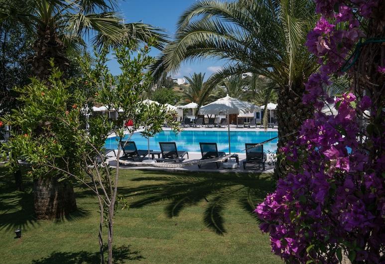 도먼 스위트, 보드룸, Suite - Pool And Garden View, 발코니 전망