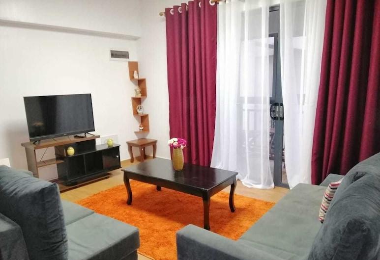 Avalor Suites Milimani, Nairobi, Sala de estar