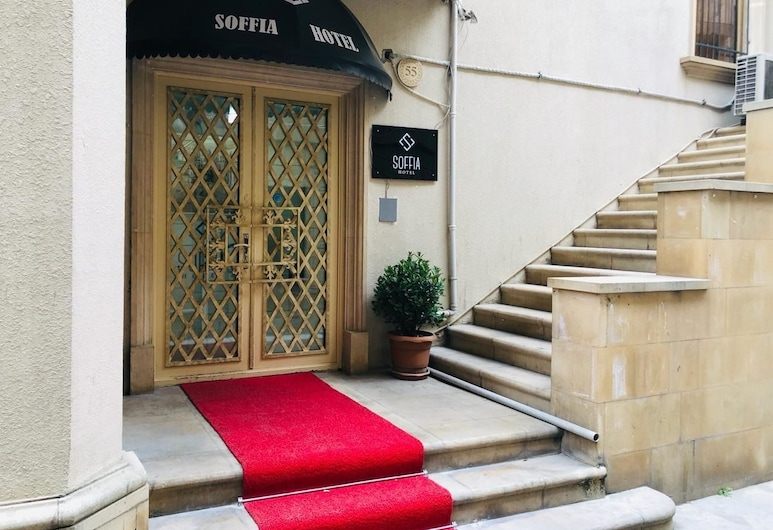 Soffia Hotel, Bakú, Fachada del hotel