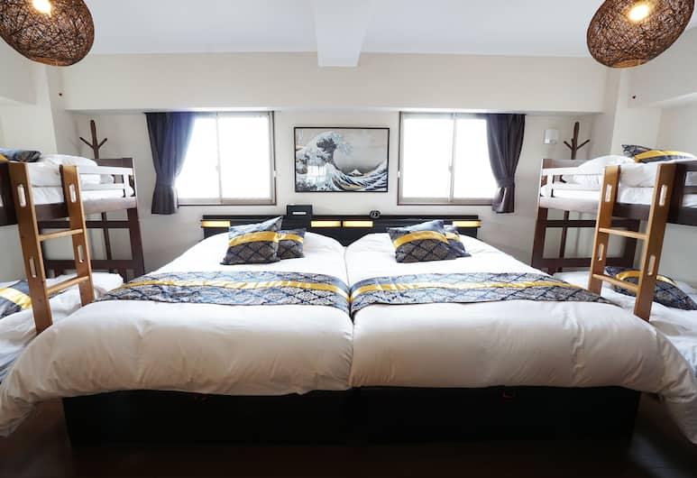 TOKYO Condominiun HOTEL ASAKUSA EIGHT, Токио, Семейная квартира, для некурящих, Номер