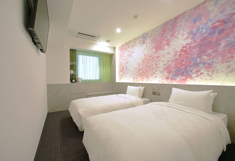 Hotel Oriental Express Tokyo Ginza (Open in July 26, 2019), Tokyo, Standard Twin Room, 2 Twin Beds, Guest Room
