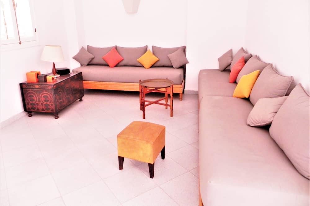 Departamento, 2 habitaciones, vista al mar - Sala de estar