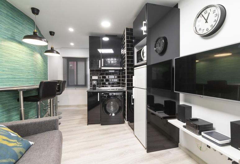 Rentalis Gran Vía Callao, Madryt, Apartament, 1 sypialnia, Salon