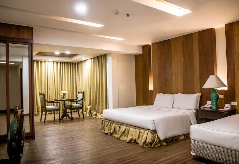 La Fiesta Hotel, Iloilo, Familiekamer, Kamer