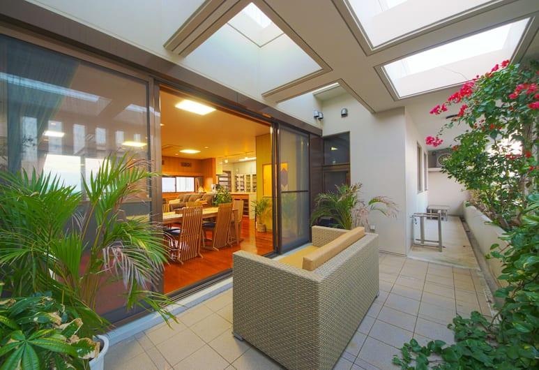 櫻花屋旅館, 宜野灣, 舒適公寓客房, 3 間臥室, 非吸煙房 (Sakuraya), 陽台