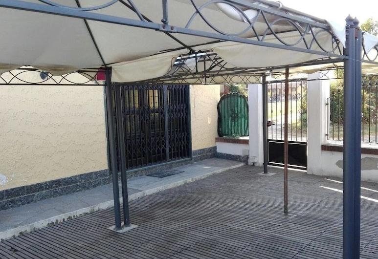 Albergo Vecchio Pavone, Mappano, Terrasse/Patio