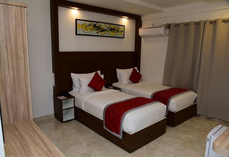 Rest Inn SKR a Petrichor Hotel, Bengaluru, Enkeltrom – standard, Gjesterom