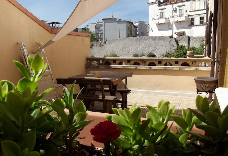 B&B Vico Vacanze, Vico del Gargano, Kambarys (1 dvigulė / 2 viengulės lovos), terasa, Terasa / vidinis kiemas