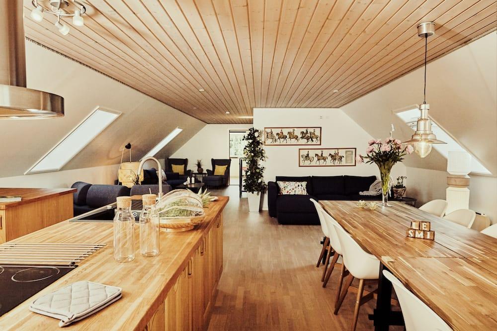 總統頂樓客房, 多張床, 非吸煙房, 花園景觀 - 客房餐飲服務