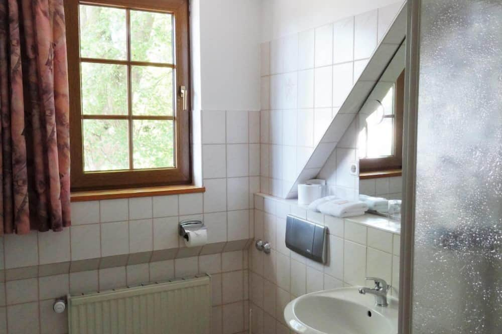 Dvoulůžkový pokoj pro 1 osobu - Koupelna