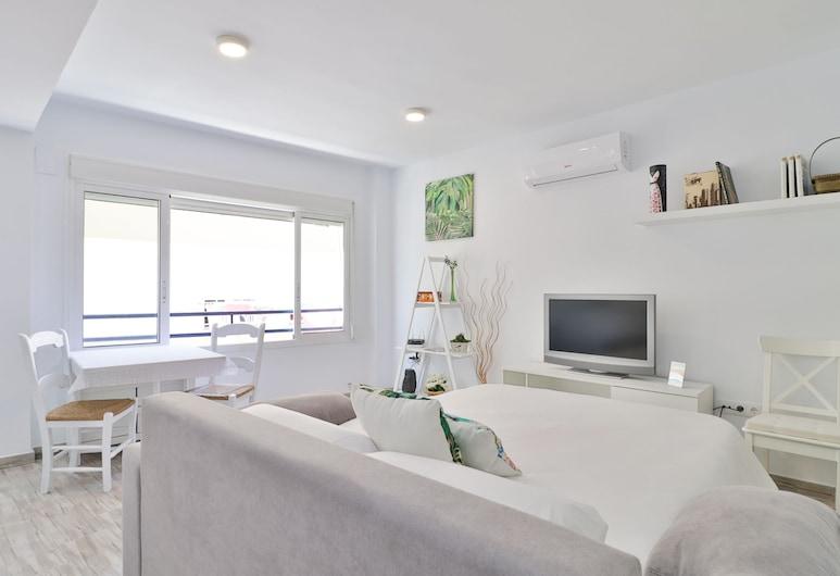Nice Studio Torre del Mar Beach, Velez-Malaga, Studio apartman, pogled na more, Dnevni boravak