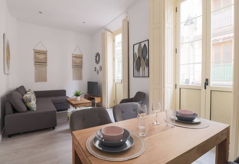 Trendy Two Bedrooms in Ollerias, Málaga, Apartment, 2 Bedrooms, Living Area