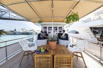 Bild vom Luxury Boat in Port Forum in Sant Adrià de Besòs