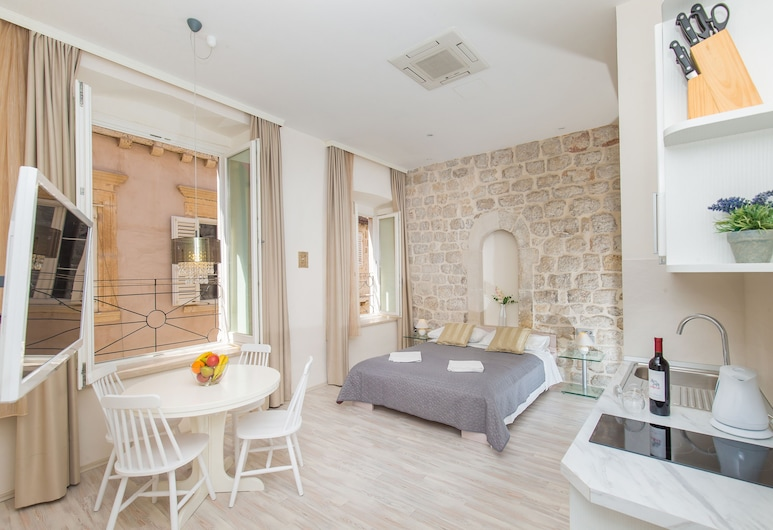 Apartments Lausion, Dubrovnik, Estúdio clássico, Área de estar