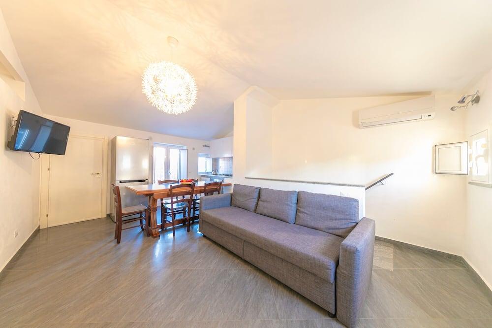 Apart Daire, 2 Yatak Odası (Margherita) - Oturma Odası