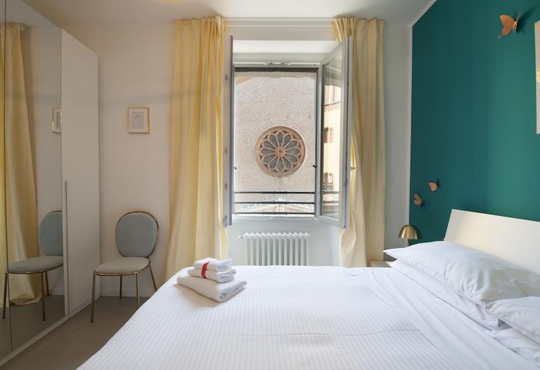 AT Home Heart of Milan - Grand City , Milaan, Appartement, 2 slaapkamers, Kamer