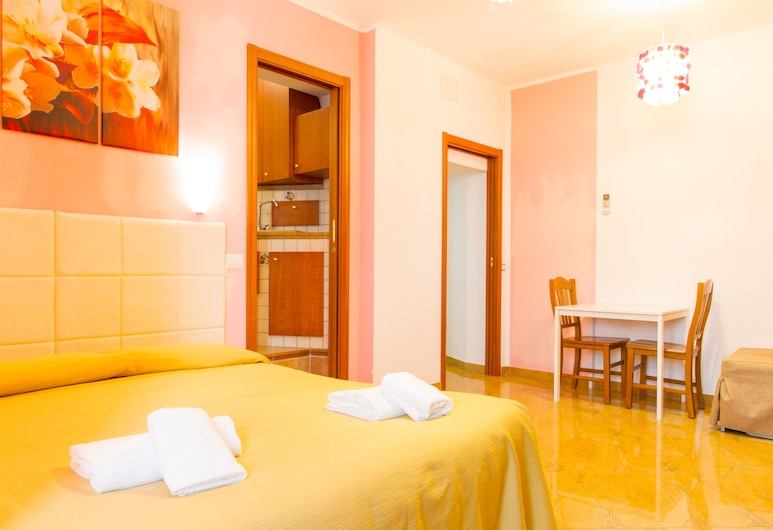 Gioia Apartment, Cefalù, סטודיו, חדר שינה אחד, חדר