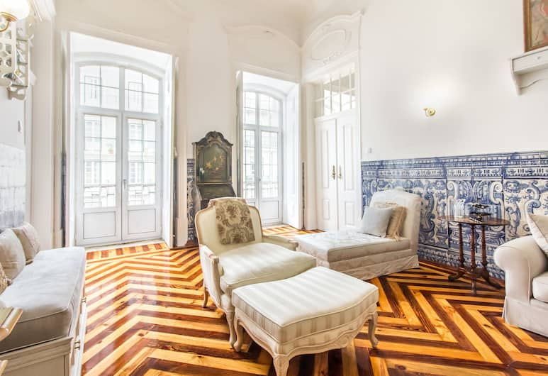 Ferns Historical Bedroom II, Lisabon, Izba, spoločná kúpeľňa, Obývacie priestory