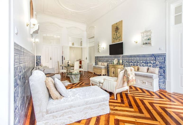 Ferns Historical Bedroom II, Λισσαβώνα, Δωμάτιο, Κοινόχρηστο Μπάνιο, Περιοχή καθιστικού