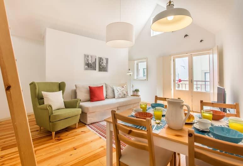 Guest Inn Alfama IV, Premium Apartments, Lizbona, Apartament, 2 sypialnie, Powierzchnia mieszkalna