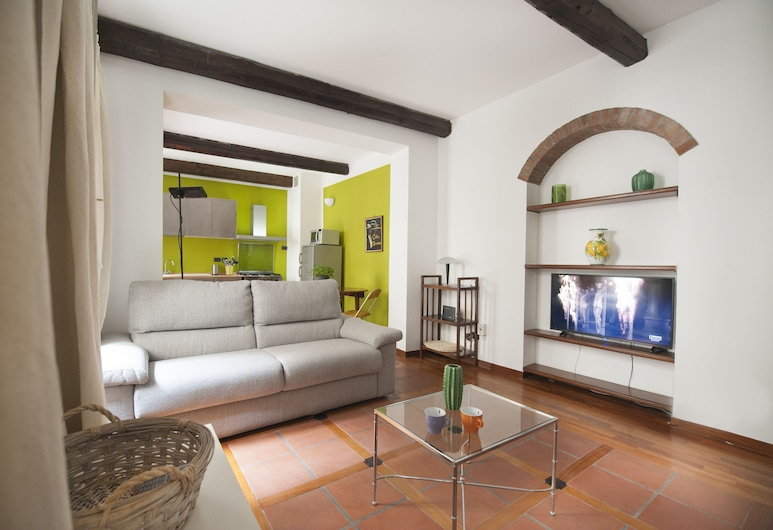 At Home Heart of Milan - Canonica , Milan, Apartment, 1 Bedroom, Living Room