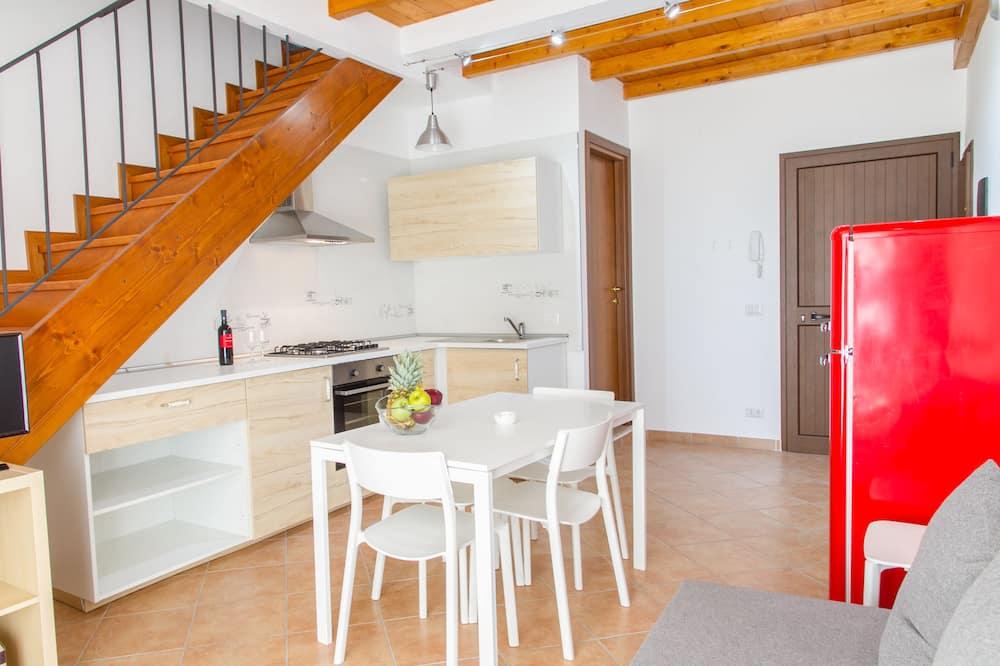 Maisonnette, 2 slaapkamers - Woonruimte