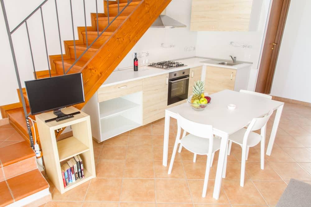 Maisonnette, 2 slaapkamers - Eetruimte in kamer