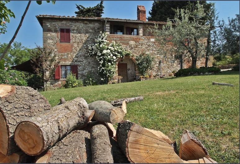 Ancora del Chianti, Greve in Chianti, Hotellin julkisivu
