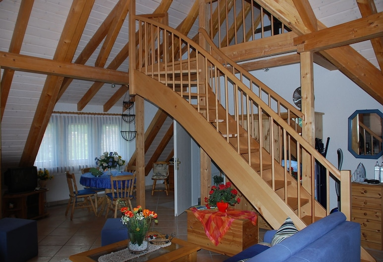Glattbacher Hof, Lindenfels, Apartment, 1 Queen Bed, Living Area