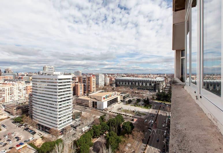 My City Home Bernabeu 360 view of Madrid, Madryt, Apartament, 2 sypialnie, Pokój