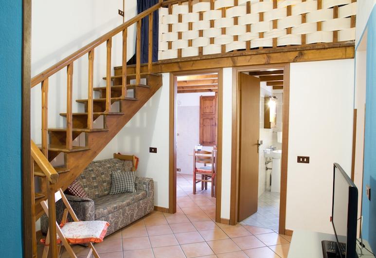 Melissa Apartment, Cefalù, Duplex, 1 Bedroom, Living Area