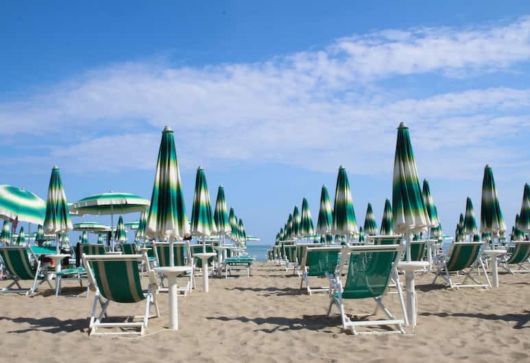 Hotel Arena, Jesolo, Spiaggia