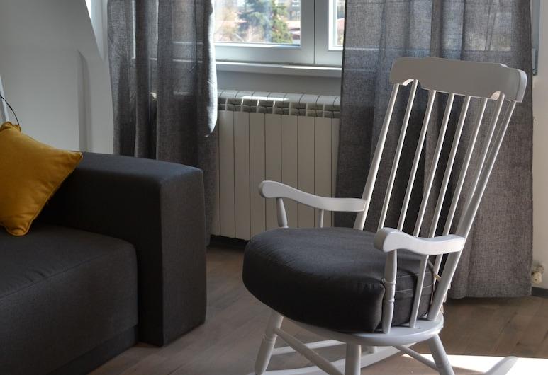 Quattro apartments Skopje, Skopje, Apartamento Standard, Área de Estar