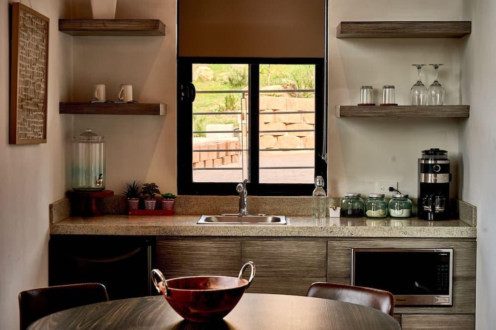 Deluxe Loft, Terrace, Vineyard View - Tempat Makan dalam Bilik