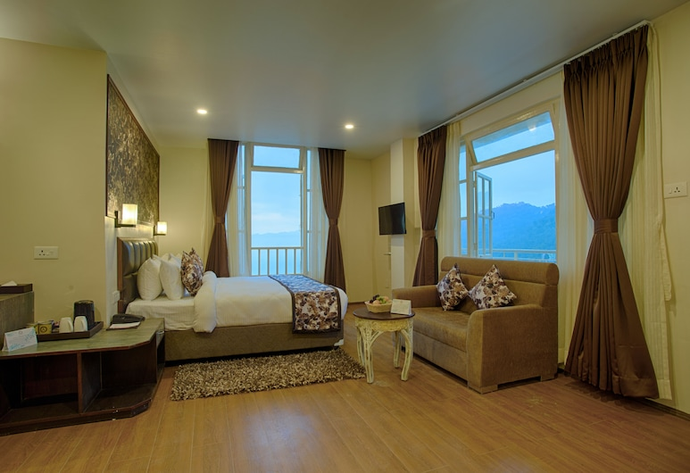 The Aryan Regency, Geyzing, Deluxe Double Room, 1 King Bed, Mountain View, Guest Room