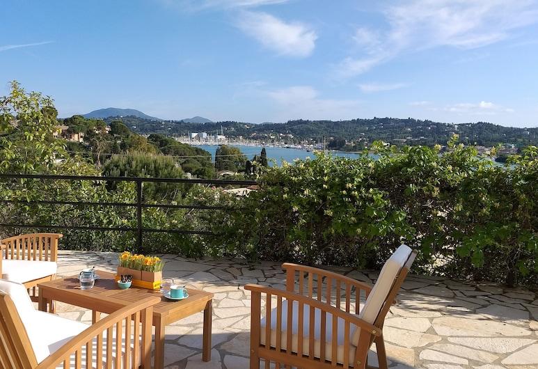 Elite Corfu - Adults Friendly, Corfu, Studio, 2 Twin Beds, Sea View, Terrace/Patio