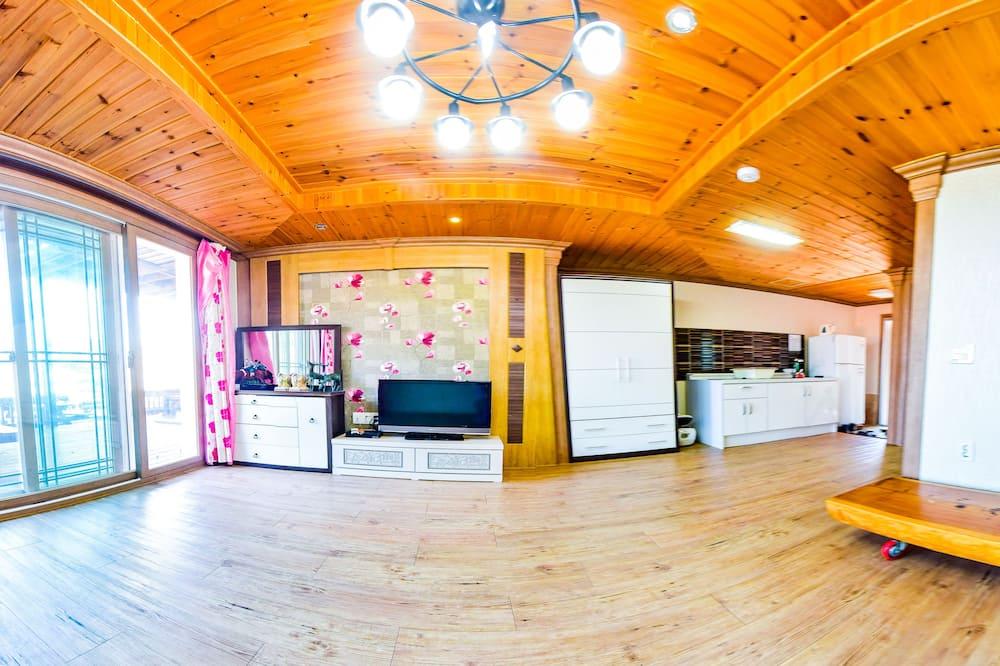 Phòng Deluxe - Khu phòng khách