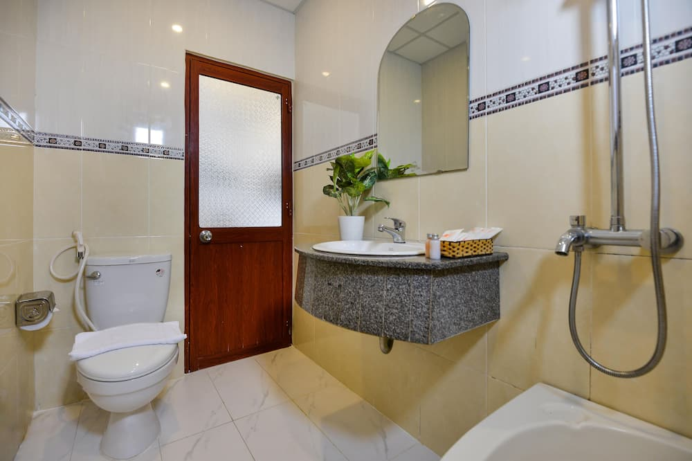 Elite-Zimmer, Stadtblick - Badezimmer