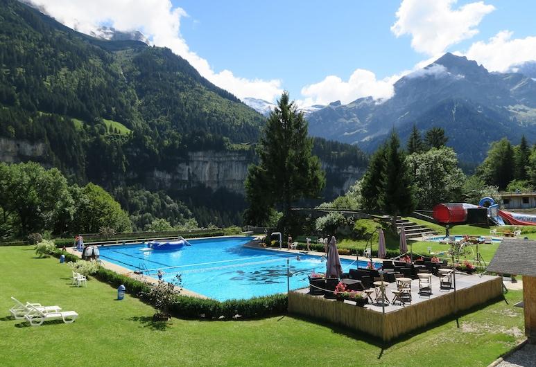 Hotel le Palladium, Champery, Açık Yüzme Havuzu