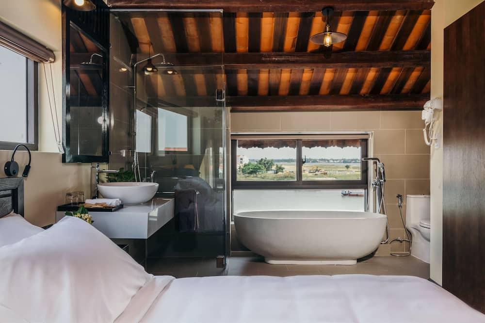 Suite de lujo, vista al río - Baño