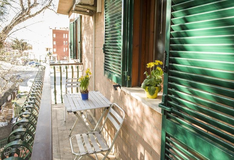Flatinrome Fiera, Róma, apartman, 1 hálószobával (3), Erkély