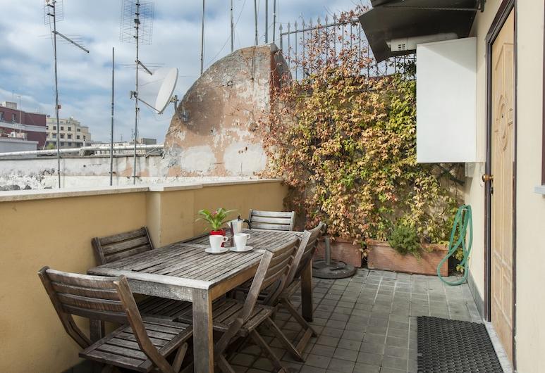 Flatinrome Termini, Roma, Apart Daire, 1 Yatak Odası (E), Teras/Veranda