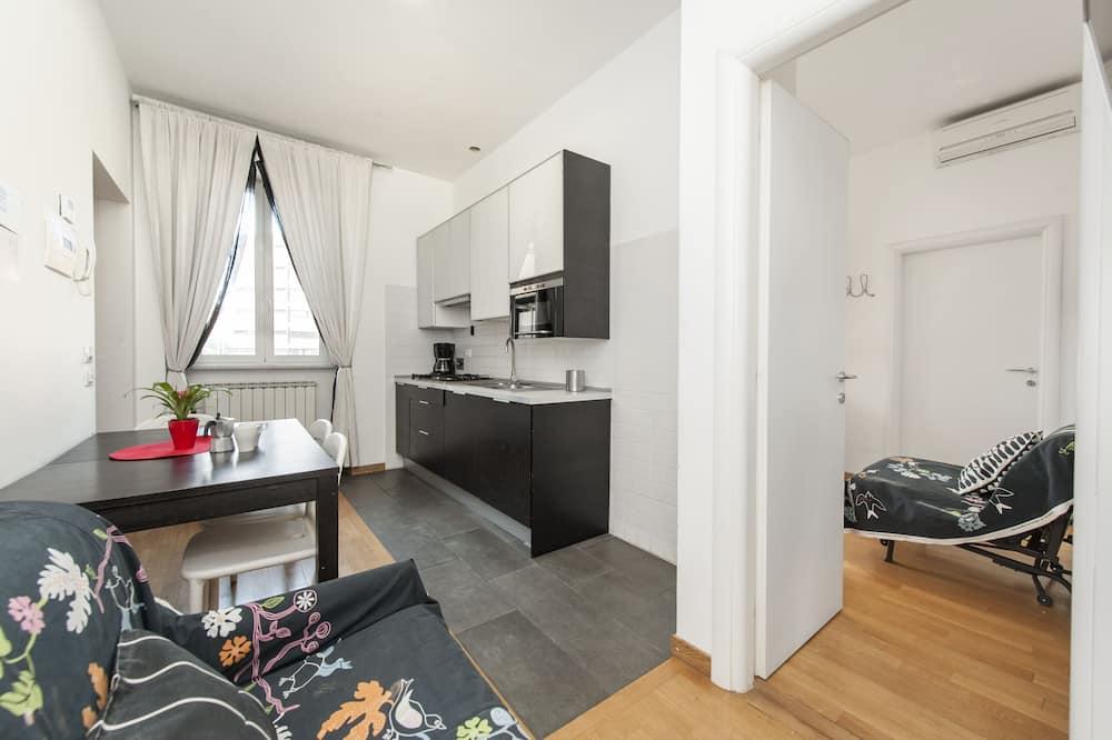 Appartement, 1 slaapkamer (A) - Woonruimte