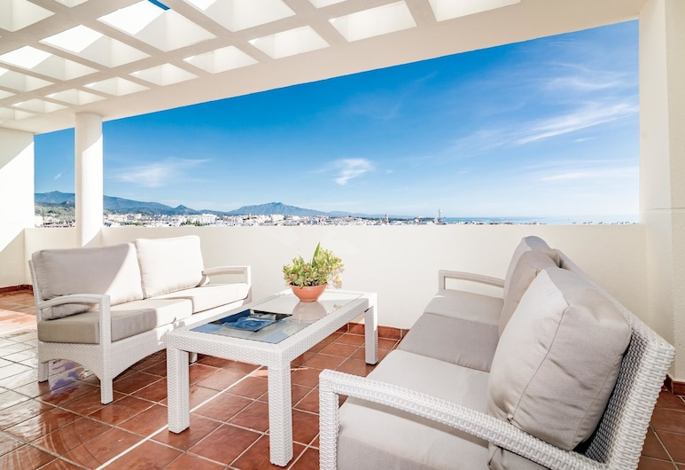 PDM-Apartment with fantastic views Estepona, Estepona, Terrace/Patio